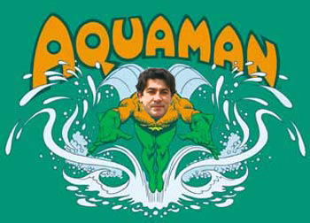 David Perez es Aquaman